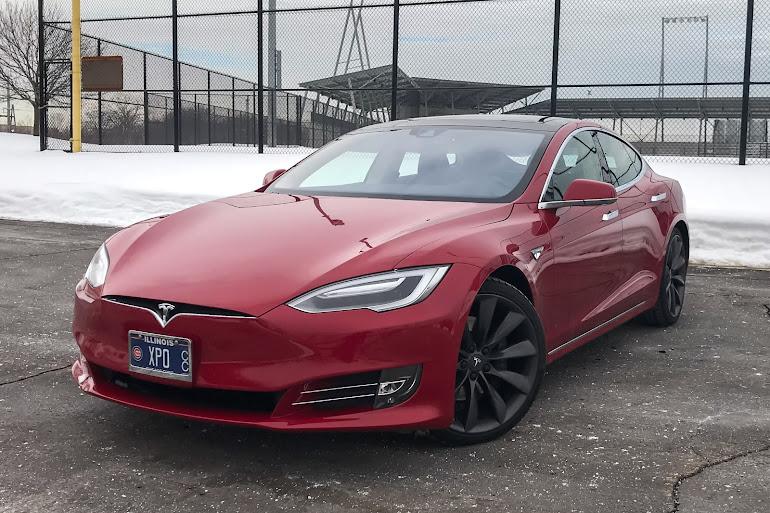 Rent A Multi Coat Red Tesla Model S In Chicago Getaround