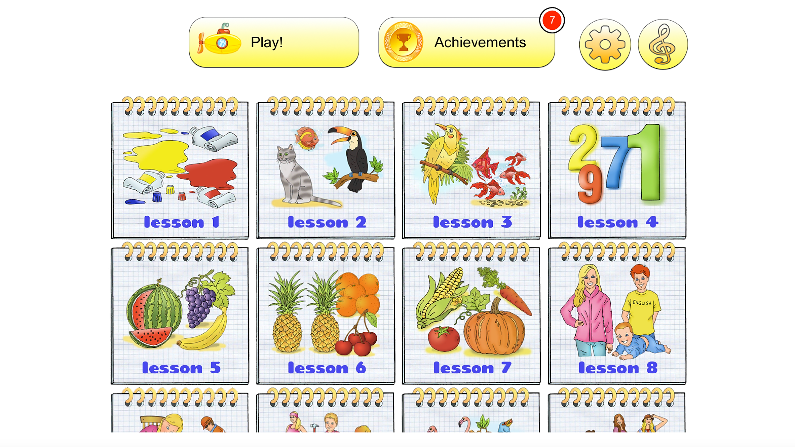 English for Kids: Learn & Play- screenshot