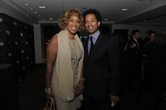Photo: POY Lunch attendees Gayle King and Toure. Photo by: Jemal Countess/Getty