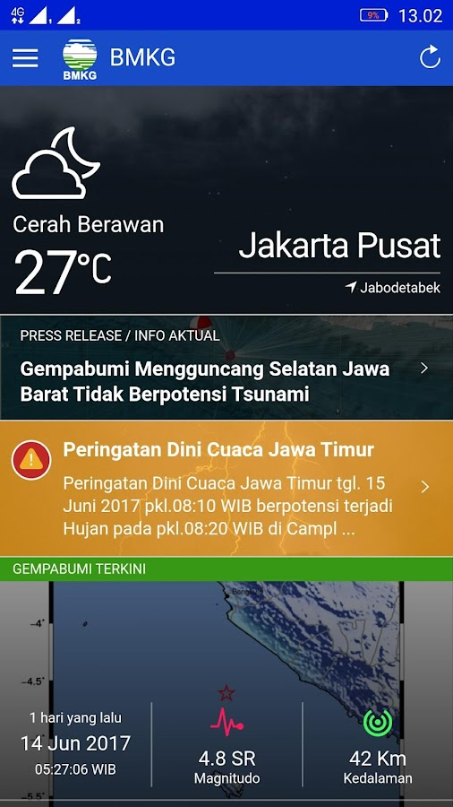 Info BMKG- screenshot