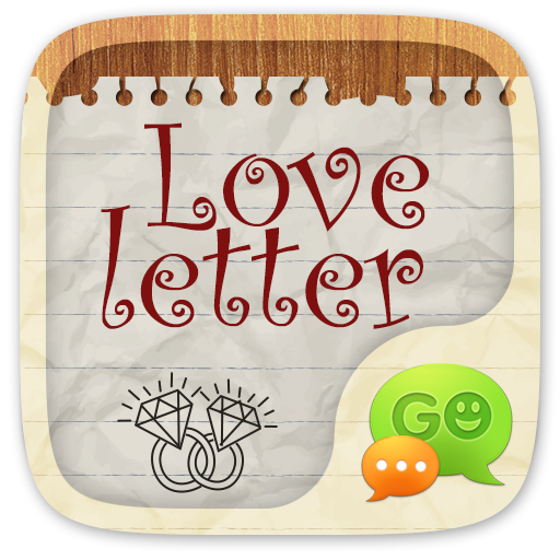 GO SMS LOVE LETTER THEME Android APK Download Free By ZT.art