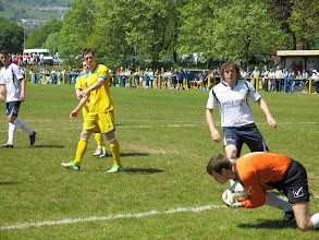 Photo: 17/05/14 v Monmouth Town (Welsh League Division One) 0-2 - contributed by Leon Gladwell