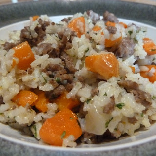 Beef & Carrot Rice