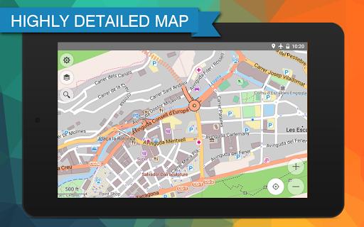 玩旅遊App|French Guiana Offline Map免費|APP試玩