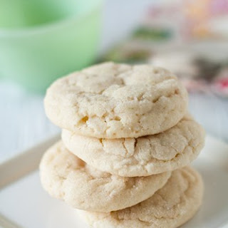 Chewy Lime Sugar Cookies Recipe