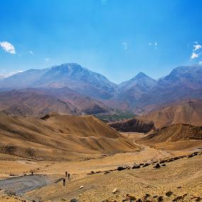 by Cheah Nz - Landscapes Deserts ( moutains, cheah nz, dessert, nepal )