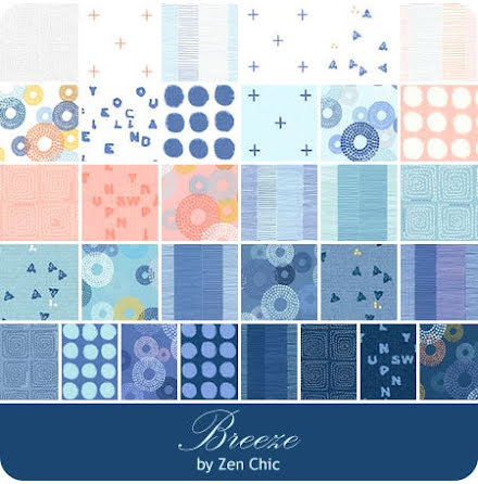 Breeze Jelly Roll by Zen Chick from Moda (11436)