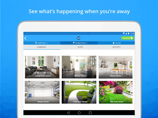Screenshot for ADT Pulse ® in United States Play Store