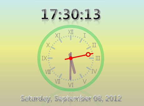 zzllrr Fullscreen Clock-ZFC