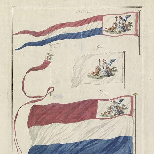 Www Kvetinas Bz Site Info: Vlaggen Van De Marine Van De Bataafse Republiek, 1796