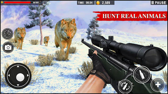 Wolf Hunter 2020: Offline Hunter Action Games 2020 for PC-Windows 7,8,10 and Mac apk screenshot 14