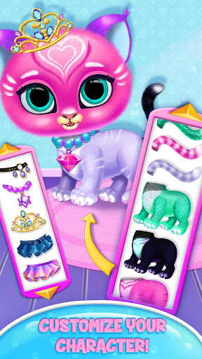 Baby Tiger Care - My Cute Virtual Pet Friend apkpoly screenshots 3