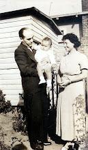 Photo: Henry, Clyde, and Mynette Heyman Pound