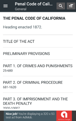 California Penal Code 0.14 screenshots 2