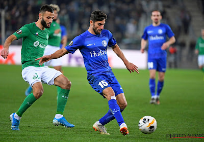 AA Gent speelde 0-0 gelijk op het veld van Saint-Etienne