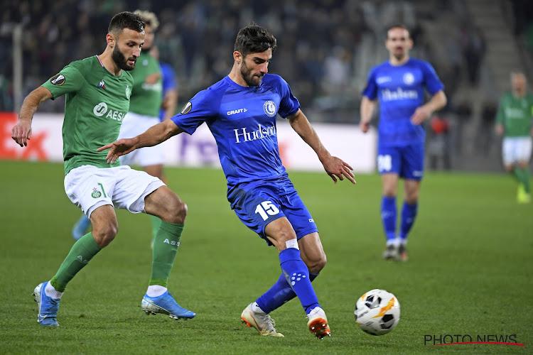AA Gent zeker van plaats in volgende ronde na gelijkspel tegen Saint-Etienne