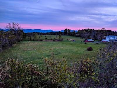 Sunset from Ridge Runner Farms