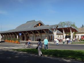 Photo: Makói autóbusz pályaudvar, tervező Makovecz Imre