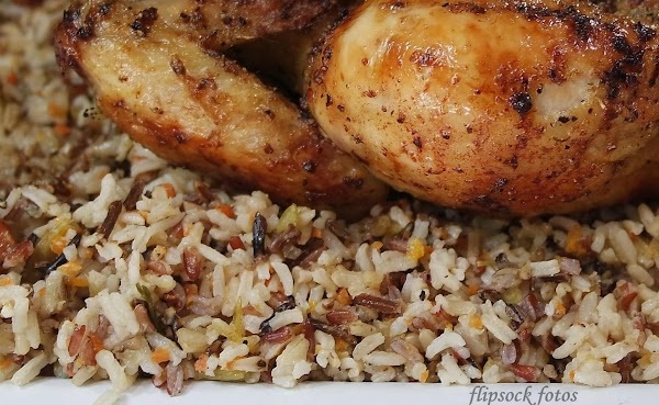 Long Grain And Wild Rice With Veggies Recipe