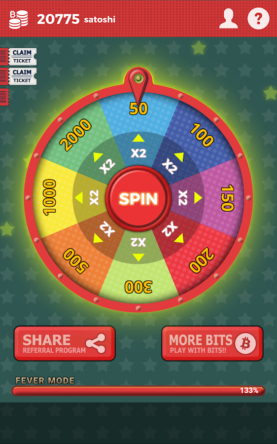 Free Bitcoin Spins- screenshot