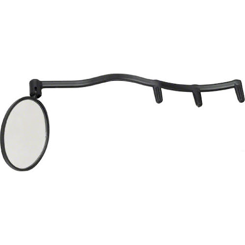 Cycle Aware Heads Up Eyeglass Mirror Black