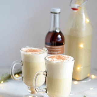 Winter Spiced Vanilla Eggnog.