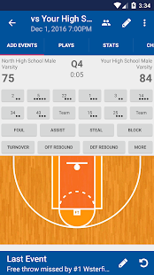 DS Basketball Statware- screenshot thumbnail