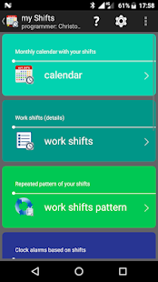 my work shifts PRO Screenshot