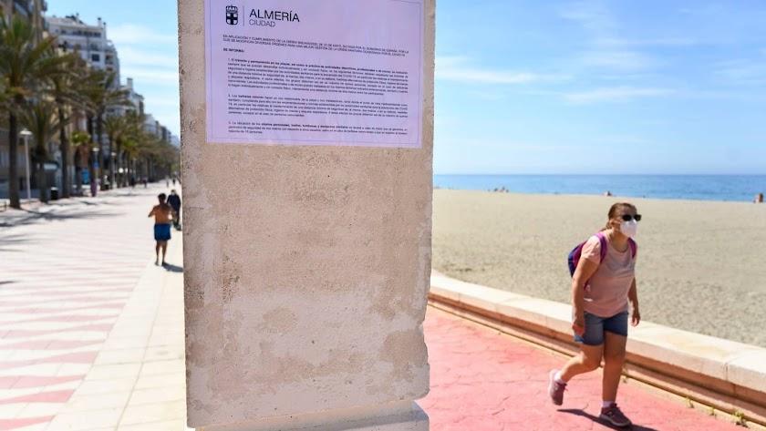 Almería suma ya tres brotes en el Poniente.