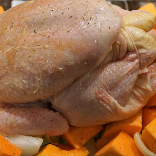 RECIPE - Harissa chicken with roast veg sauce