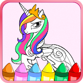 Colouring Book for Little Pony