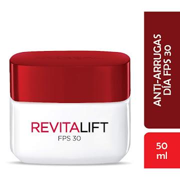 Crema Facial L'Oréal Paris Revitalift Día FPS 30