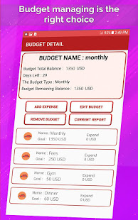 money manager personal budget planner apl di google play
