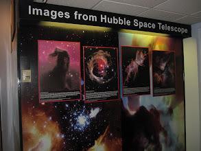 Photo: Beautiful exhibit about Hubble!
