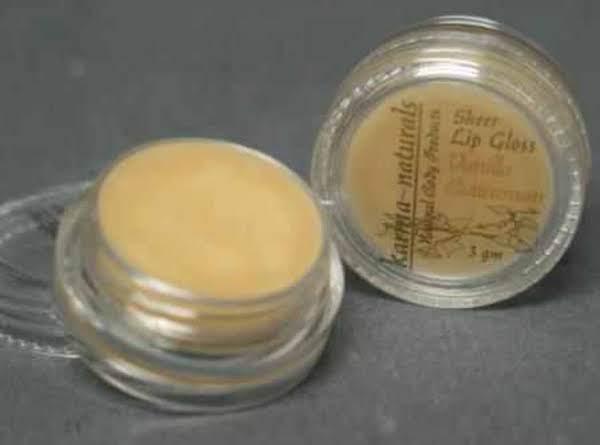 Vanilla Lip Gloss Recipe