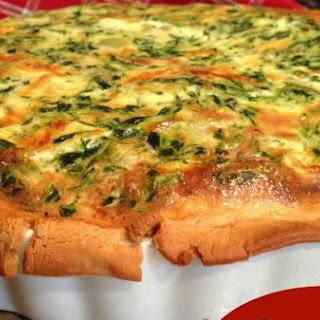 Spinach & Artichoke Quiche