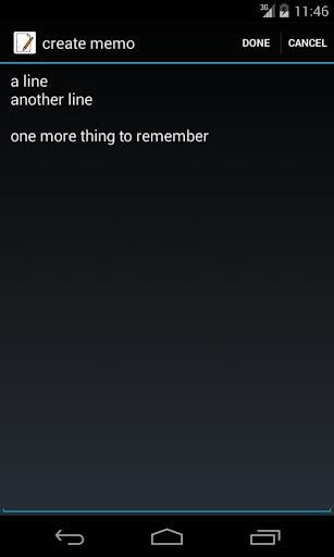Yet another memo app