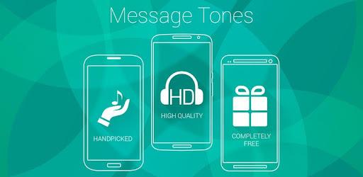 message ringtone applications