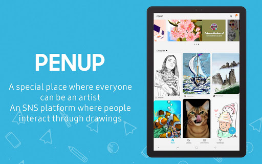 PENUP – Share your drawings