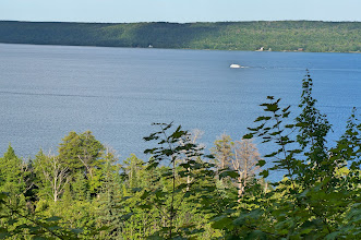 Photo: The following morning we sailed through this harbor on our excursion of Pictured Rocks National Lakeshore.