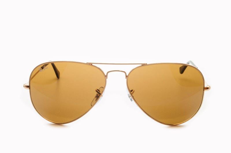 Ray Ban Aviator Gold Brown