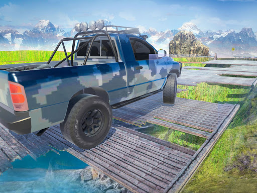Offroad Jeep Army SUV Mountain Driving Simulator 1.3 screenshots 5