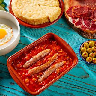 The Ultimate Frugal Spanish Tapas Breakfast.