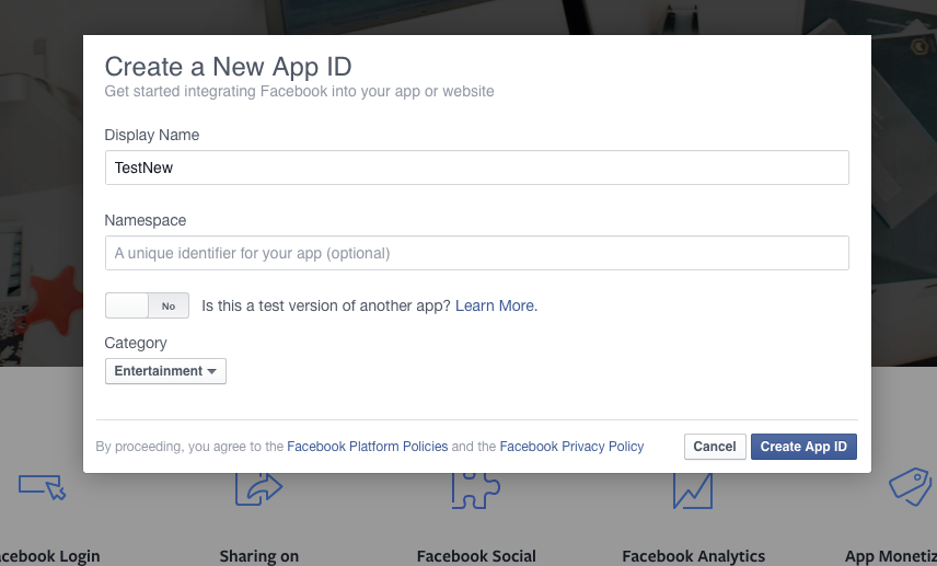 Facebook iOS integration - trinitytuts