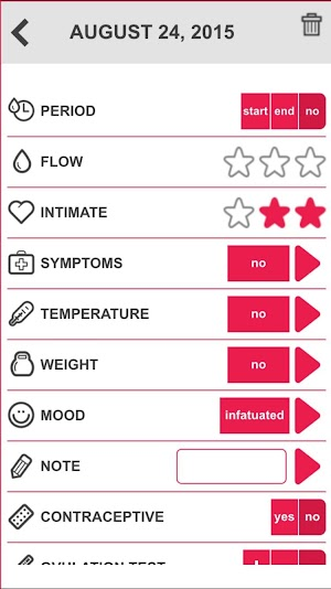 15 Ovulation & Period Calendar App screenshot