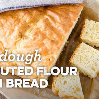 Sourdough Sprouted Flour Corn Bread Recipe