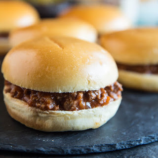 The Best Sloppy Joes.