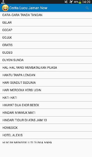 1000+ Cerita Lucu Jaman Now 3.3 screenshots 10