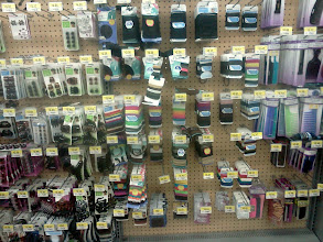 Photo: On our way to grab some shampoo I stopped to look at the accessories, ours hair ties disappear around our house.