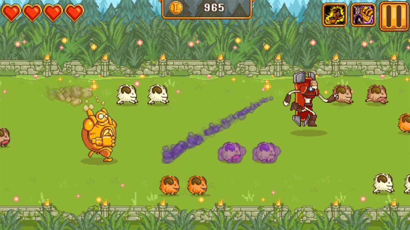 Blitzcrank's Poro Roundup: captura de pantalla